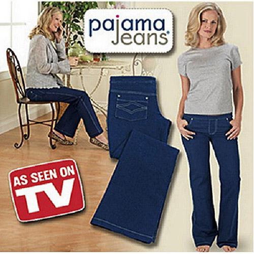 As Seen on TV Women's Pajama Jeans, Denim Blue