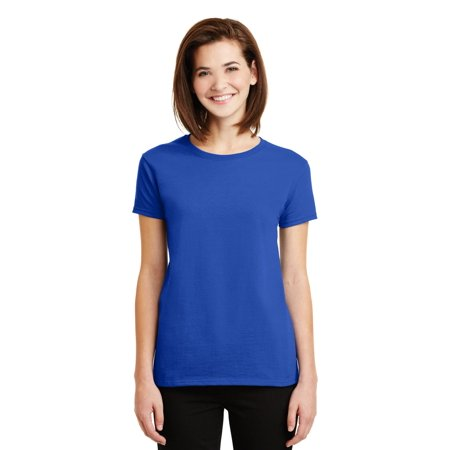 Gildan Ladies Ultra Cotton 100% Cotton - 100 Cotton Ladies Tee