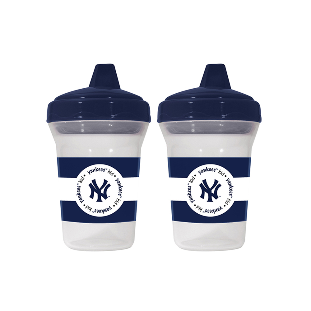 Baby Fanatic BFA-NYY122 New York Yankees Mlb 5oz Sippy Cup [2 Pack]