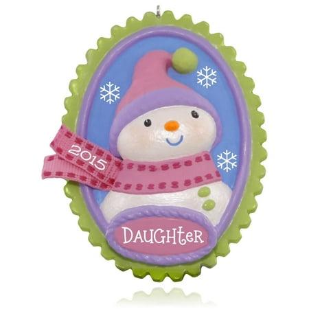 Hallmark Ornament 2015 Oh Snow Sweet Daughter