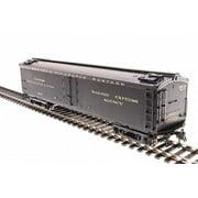 """Broadway Limited 1827 HO Denver & Rio Grande Western 53'6"""" Express Reefer #1607"""
