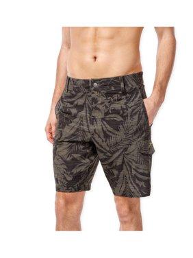 ec280082ffc940 Product Image Speedo Mens Floral Hybrid Swim Bottom Board Shorts