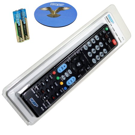 HQRP Remote Control for LG 50PB6600 60PB6600 55EA8800 55EA9800 PB6600 EA8800 EA9800 50; 55; 60; LCD LED HD TV Smart 1080p 3D Ultra 4K + HQRP Coaster