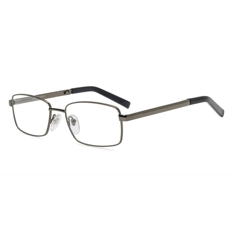Contour Mens Prescription Glasses, FM11562 Gunmetal