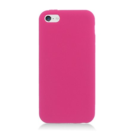 iPhone 5C Case, by Insten Rubber Silicone Soft Skin Gel Case Cover For Apple iPhone