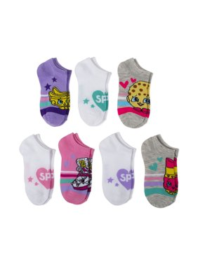 439526f44 Product Image Shopkins No Show Socks