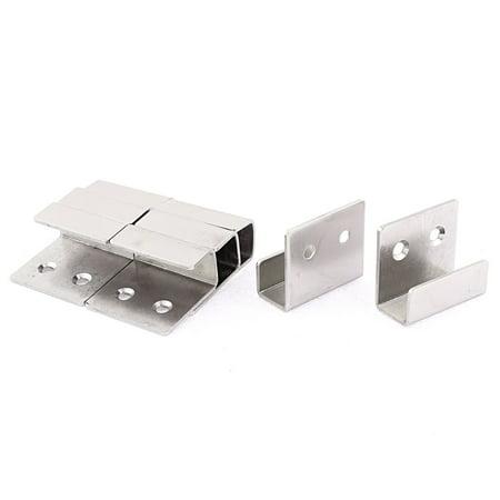 Uxcell Stainless Steel Wall Bracket Hook Hanger 8pcs for Ceramic Tile Display