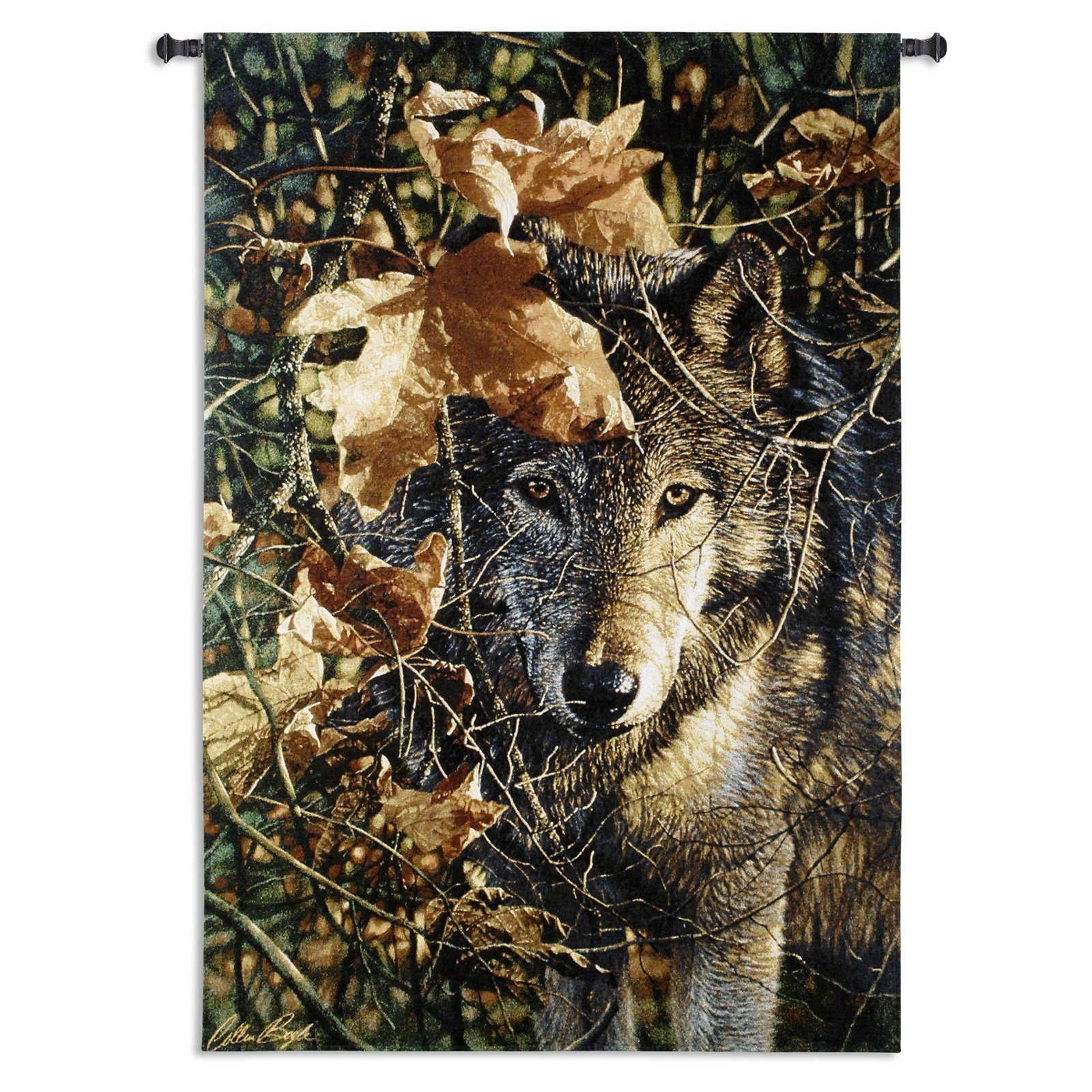 Fine Art Tapestries Autumn Eyes Wall Tapestry by Supplier Generic