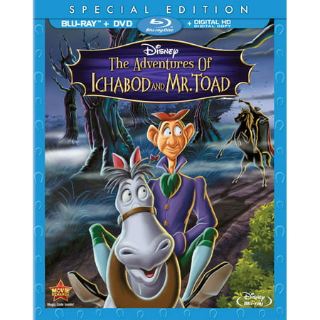 The Adventures Of Ichabod And Mr. Toad (Special Edition) (Blu-ray + DVD + Digital
