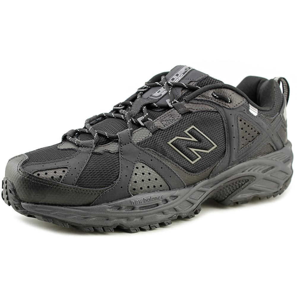 New Balance MT481 Men  Round Toe Synthetic Black Trail Ru...