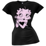 betty boop betty pulp juniors t shirt