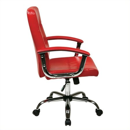 Scranton & Co Office Chair in Red - image 1 of 2
