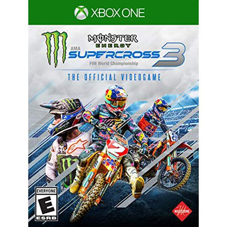 Monster Energy Supercross The Official Videogame 3, Square Enix, Xbox One