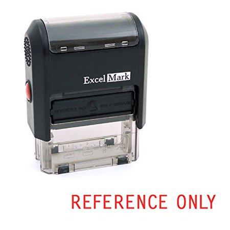 REFERENCE ONLY Self Inking Rubber Stamp