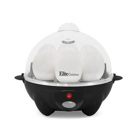 Elite Cuisine EGC-611B Automatic Egg Cooker