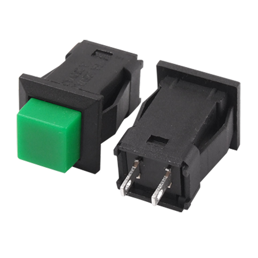 5pcs Ac 125v 3a 250v 1a No N O Spst Latching Green Push Button Cool Electronics Circuits A Switch On Off