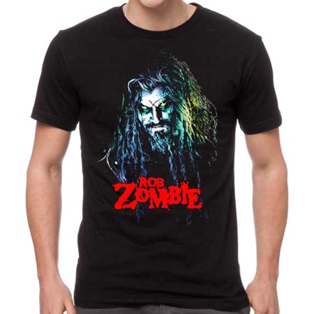 Rob Zombie Men's Hell Billy Head T-Shirt