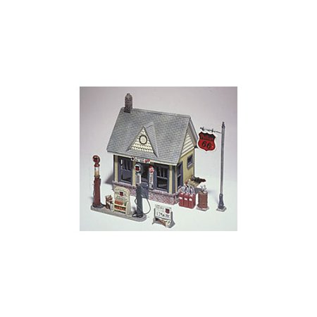 D223 Phillips 66 Metal Cast Gas Station Kit Ho Multi Colored