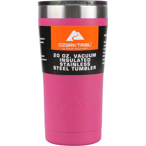 Ozark Trail 20-Ounce Double-Wall, Vacuum-Sealed Tumbler