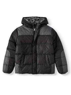 Wonder Nation Boy's Bubble Jacket (Little Boys, Big Boys, & Husky)