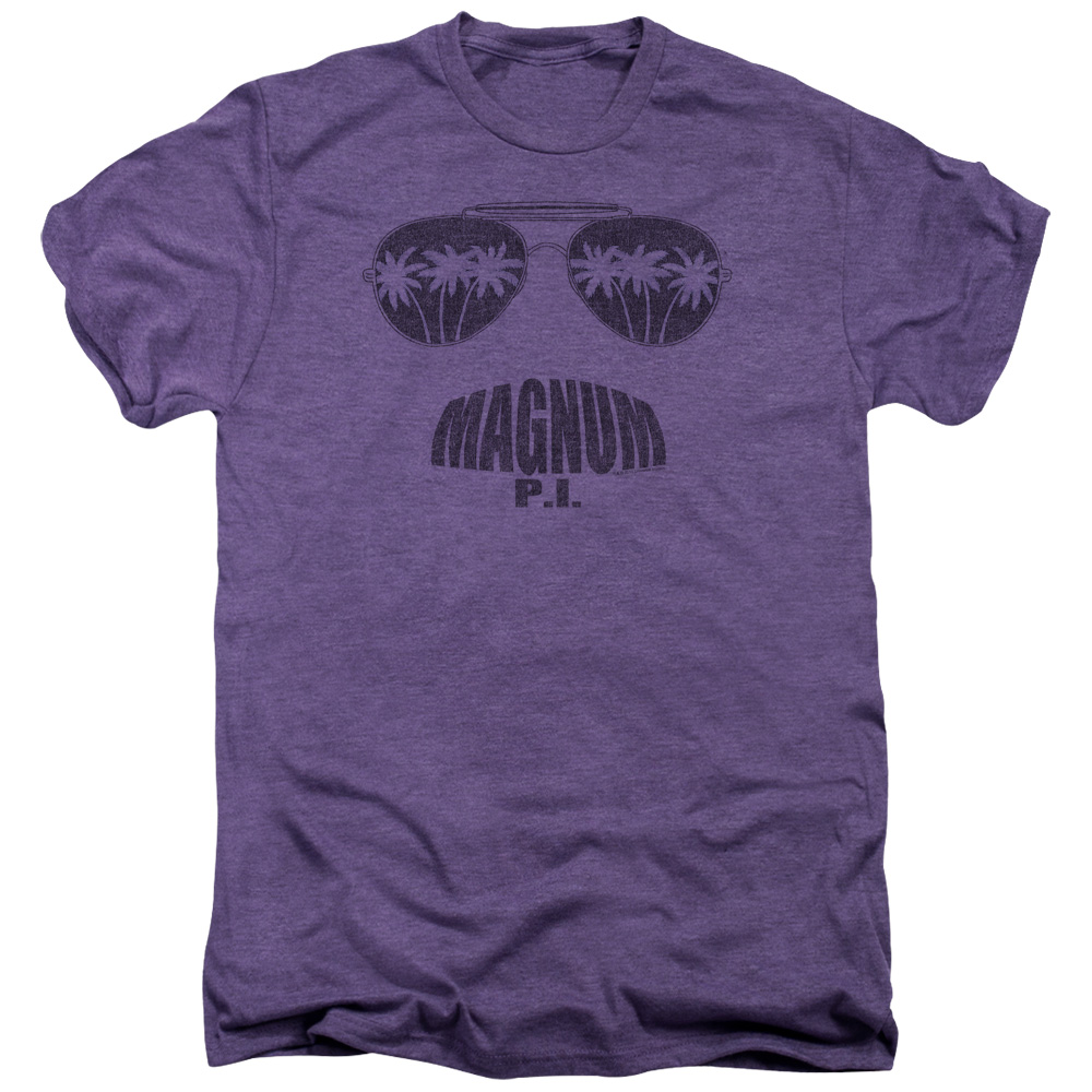 Magnum PI Face It Mens Premium Tee Shirt