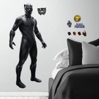 Black Panther Movie Peel and Stick Giant Wall Decals