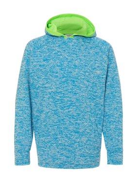 8610 J. America Fleece Youth Cosmic Fleece Hooded Pullover Sweatshirt