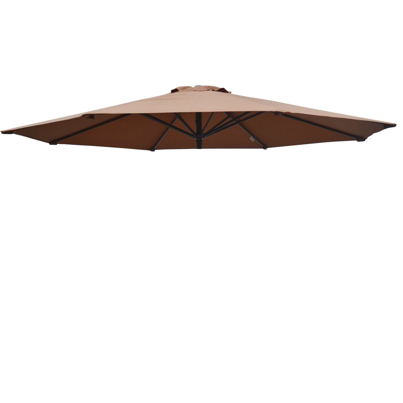 Replacement Patio Umbrella Canopy Cover for 9ft 8 Ribs Umbrella Burgundy (CANOPY ONLY) by Sunny Outdoor Inc.