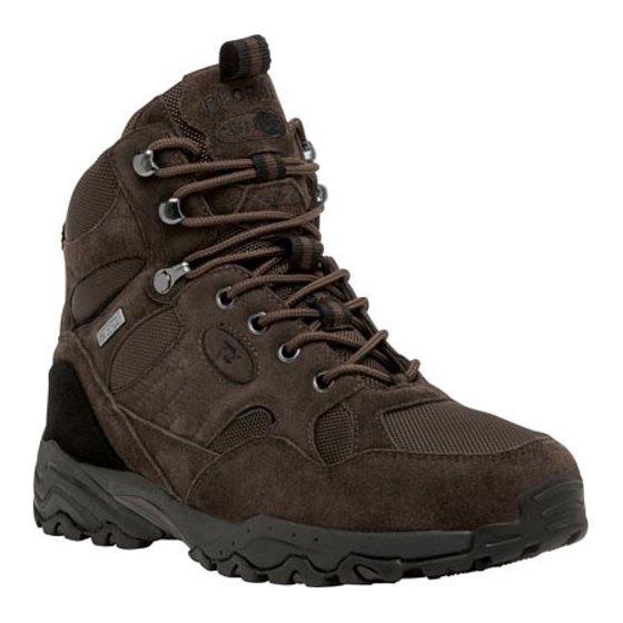 6599fe1c3ae1 Propet - Propet Men s Camp Walker Boots Brown Canvas Suede 9 XX ...