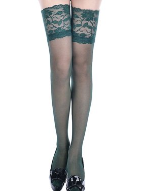 c4cf796bb44 Product Image Womens Sexy Floral Lace Top Thigh High Stockings Nightclubs  Over The Knee Stockings
