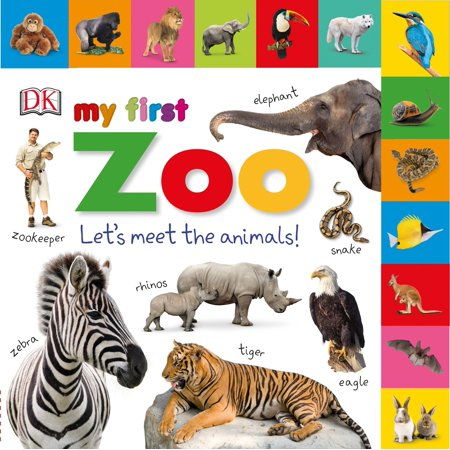 My 1st Zoo Lets Meet the Animals (Board Book)