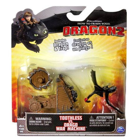 How to Train Your Dragon 2 Toothless vs Drago War Machine Action Figure 2-Pack