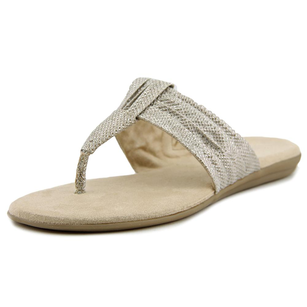 Aerosoles Chlairvoyant Open Toe Canvas Thong Sandal by Aerosoles