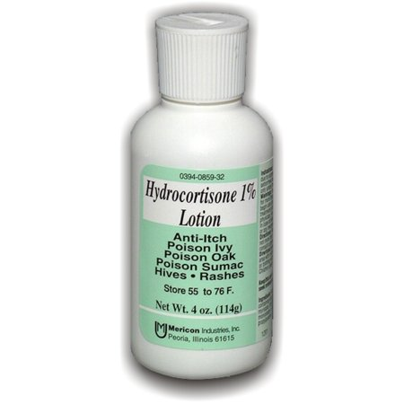 Hydrocortisone 1 Percent Maximum Strength Anti Itch, Poison Ivy Lotion By Mericon - 4