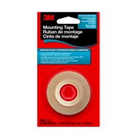 3M Clear Indoor Window Film Mounting Tape, 1/2 in x 13.8 Yds, 1 Roll