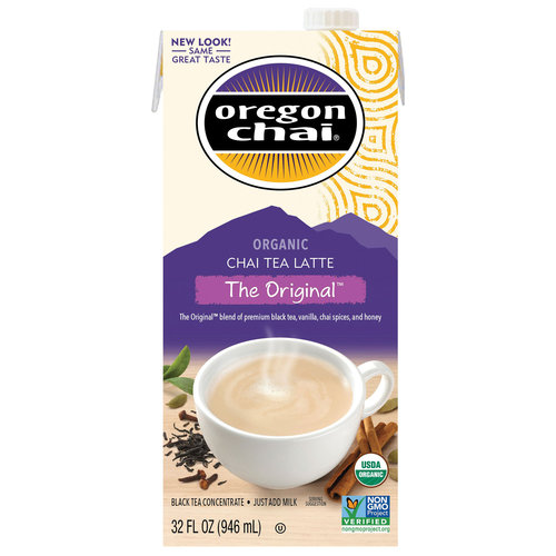 Oregon Chai Original Tea Latte Concentrate, 32 fl oz