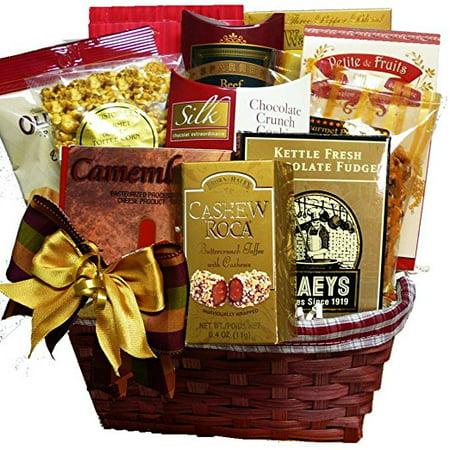 Halloween Treat Gift Baskets (Snack Lovers Gourmet Treats Gift)
