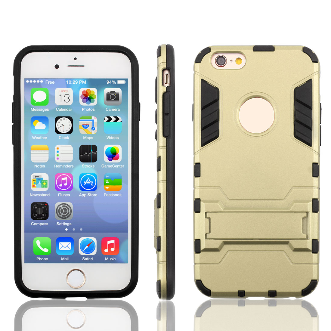 Bracket Stand Design Dual Layer Protective Phone Case ...