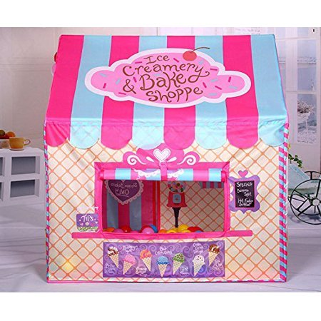 Kid Princess Indoor Outdoor Play Tents Ice Cream And