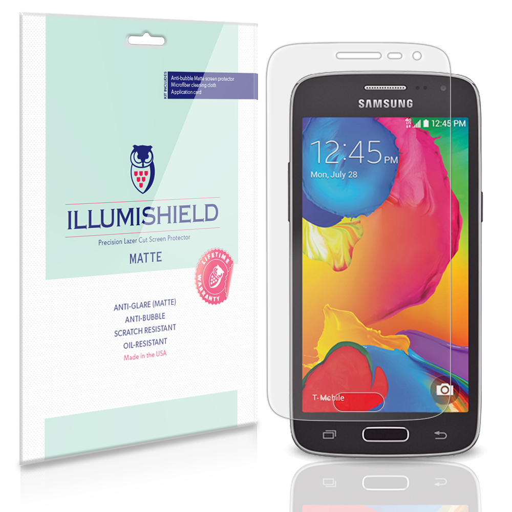 iLLumiShield Anti-Glare Matte Screen Protector 3x for Samsung Galaxy Avant