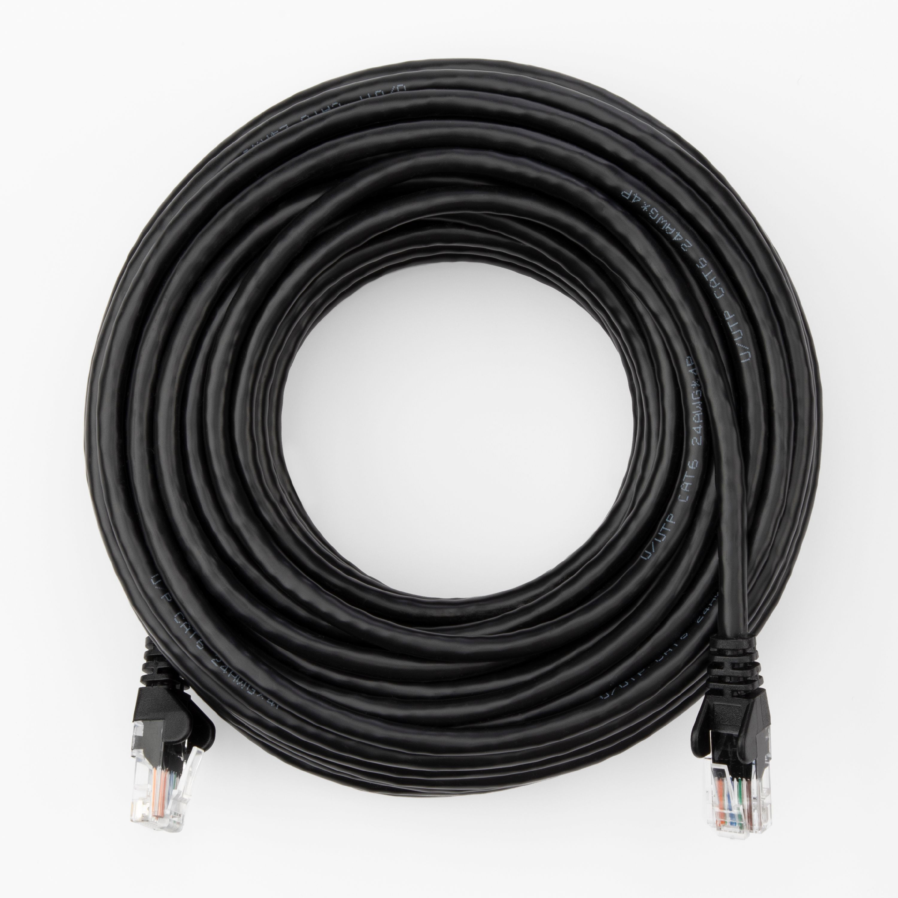 Conecto Connection Cable Ethernet Cable Black Black 3,00m Network Cable
