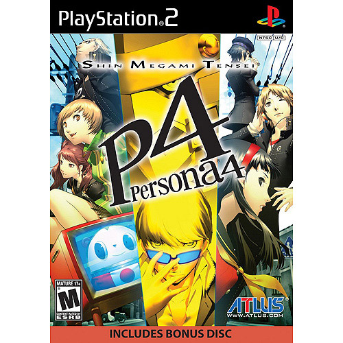 Shin Megami Tensei Persona 4 Video Game: PlayStation 2