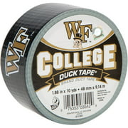 "Duck Brand Duct Tape, College Logo Duck Tape, 1.88"" x 10 yard, Wake Forest Demon Deacons"