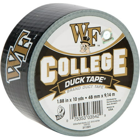Duck Brand Duct Tape, College Logo Duck Tape, 1.88