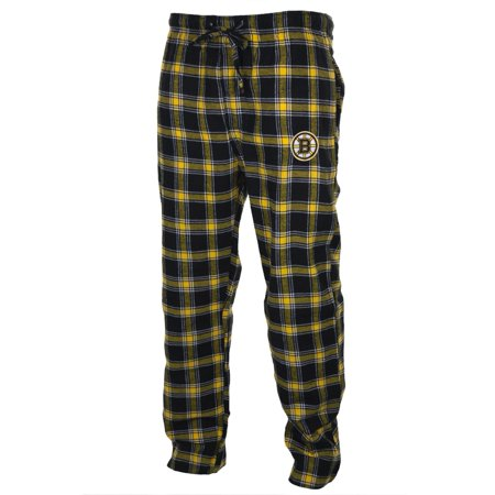 Boston Bruins - Logo Plaid Lounge Pants (Boston Bruins Party Supplies)