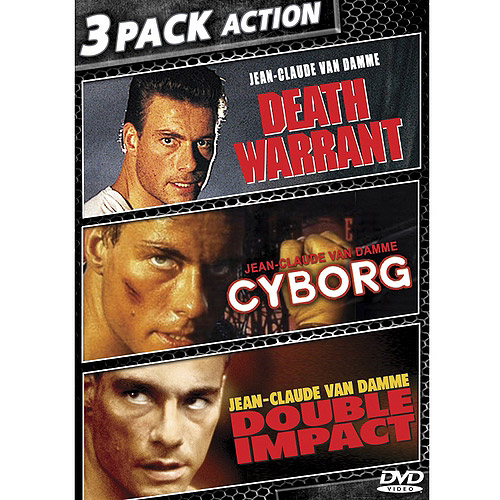 Jean Claude Van Damme Triple Feature: Cyborg / Death Warrant / Double Impact (Widescreen)