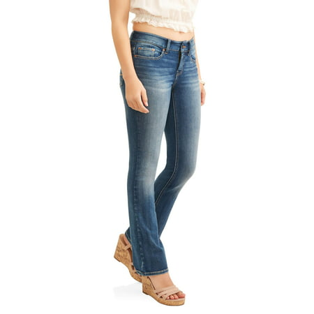 Bootleg Trouser Jeans (Time and Tru Women's Core Bootcut Jean )