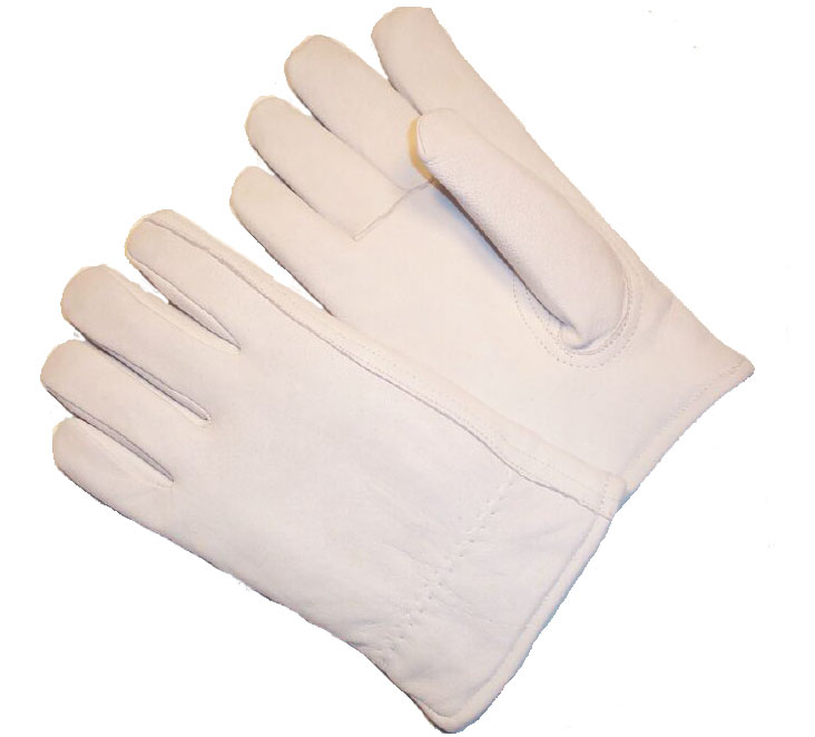 G & F Premium Goatskin Leather Winter Gloves, Rayon Lining, Large, 1 Pair by Winter Gloves