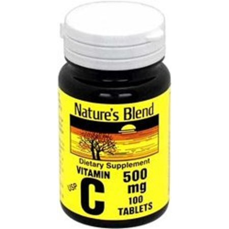 Natures Blend Vitamin C 500Mg Tablets  250Ct