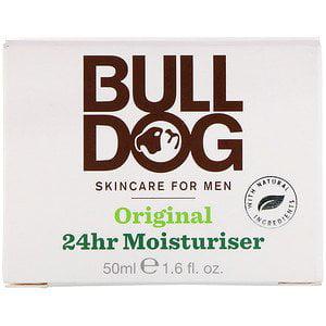Bulldog Skincare For Men, Original 24hr Moisturiser, 1.6 fl oz (50 ml) (Pack of